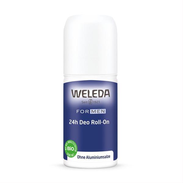 WELEDA MEN, 24 val. rutulinis dezodorantas, 50 ml paveikslėlis