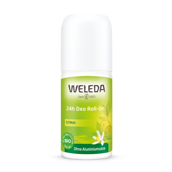 WELEDA CITRUS, 24 val. rutulinis dezodorantas, 50 ml paveikslėlis