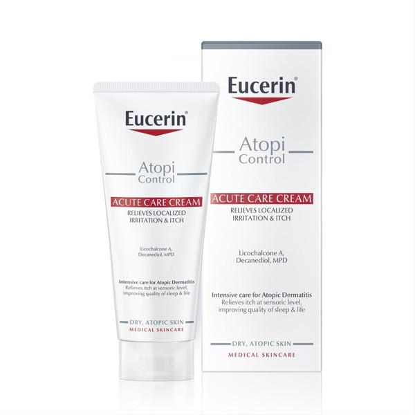 EUCERIN ATOPICONTROL, intensyvaus poveikio odos priežiūros kremas, 100 ml paveikslėlis