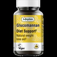 LIFEPLAN GLUCOMANANN DIET SUPPORT, gliukomananas, 180 kapsulių paveikslėlis