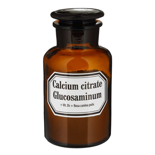 OLD PHARM CALCIUM CITRATE + GLUCOSAMINUM + VIT. D3 + ROSA CANINA, milteliai, 70 g paveikslėlis