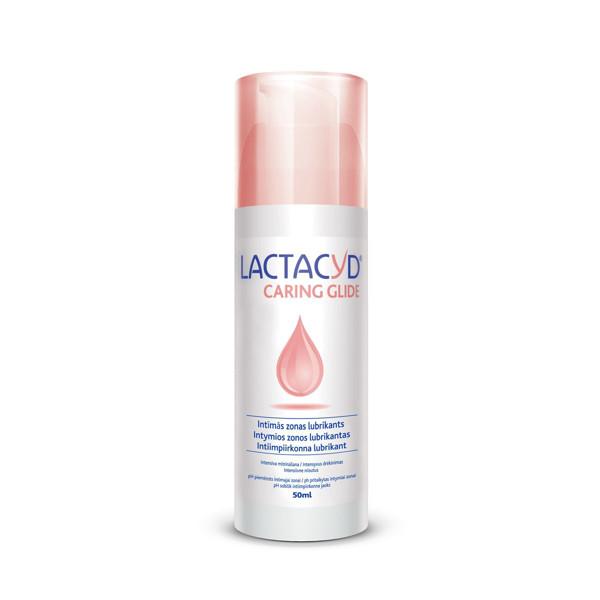 LACTACYD CARING GLIDE, intymios zonos lubrikantas, 50 ml paveikslėlis