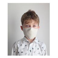 Apsauginė vaikiška kaukė (šviesi), daugkartinio naudojimo, 2-10 metų vaikams paveikslėlis