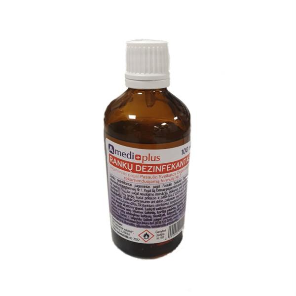 AMEDIPLUS, rankų dezinfekantas, 100 ml paveikslėlis