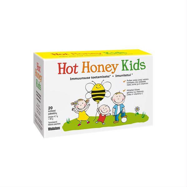 HOT HONEY KIDS, milteliai, 20 paketėlių paveikslėlis