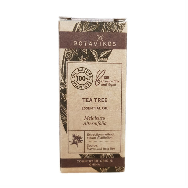 BOTAVIKOS, arbatmedžio 100% eterinis aliejus, 5 ml paveikslėlis