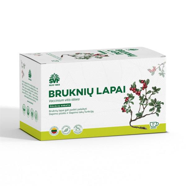 ACORUS BRUKNIŲ LAPAI,1,5 g, žolelių arbata, 24 vnt. paveikslėlis