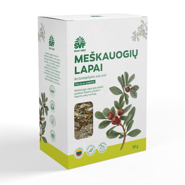 ACORUS MEŠKAUOGIŲ LAPAI, žolelių arbata, 50 g paveikslėlis