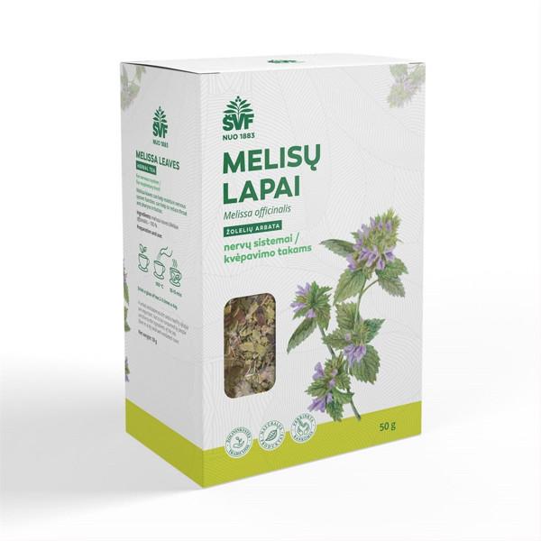 ACORUS MELISŲ LAPAI, žolelių arbata, 50 g paveikslėlis