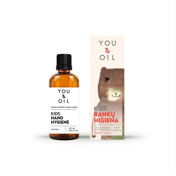 YOU&OIL KIDS, rankų higienos skystis, 50 ml paveikslėlis