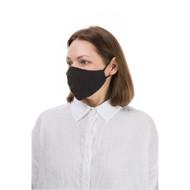 GRIZAS, apsauginė kaukė veidui, lininė, juoda, 1 vnt paveikslėlis