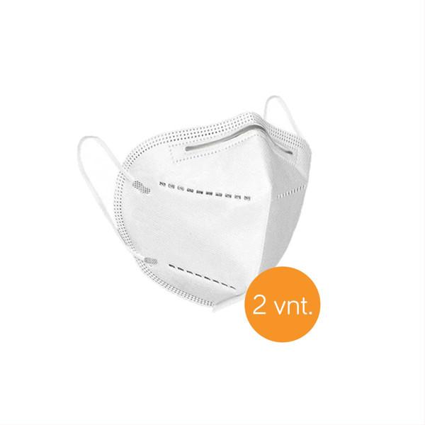Apsauginė kaukė - respiratorius, KN95 FFP2, 2 vnt. paveikslėlis