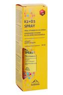 NORDAID K2+D3 SPRAY, purškiami vitaminai K2+D3, 200 purškimų, 30ml paveikslėlis