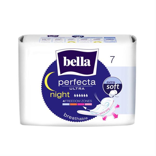 BELLA PERFECTA ULTRA NIGHT SOFT, higieniniai paketai, 7 vnt. paveikslėlis