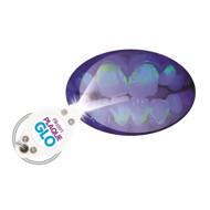 PIKSTERS PLAQUE GLO, apnašas nudažanti dantų pasta (su lempute), 25 g paveikslėlis