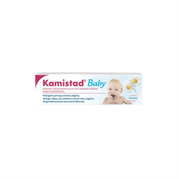 KAMISTAD BABY, dantenas masažuojantis gelis, 10 ml paveikslėlis