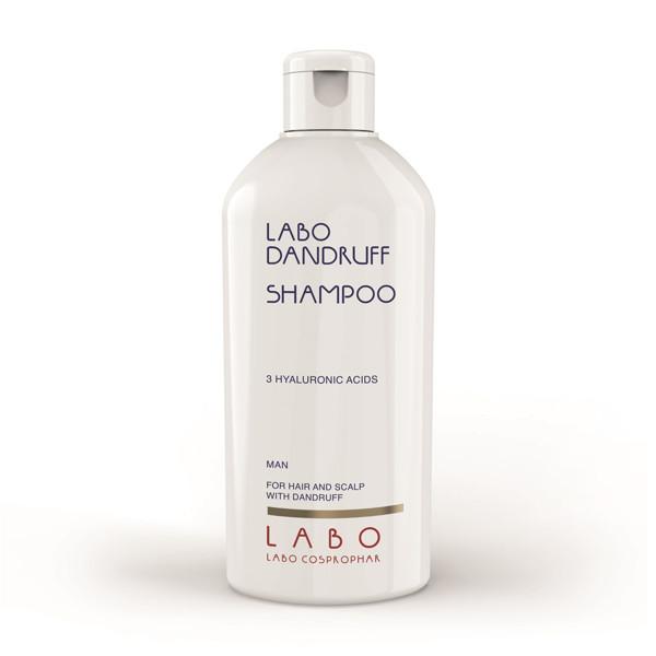 LABO DANDRUFF, šampūnas nuo pleiskanų su 3 hialurono rūgštimis, vyrams, 200 ml paveikslėlis