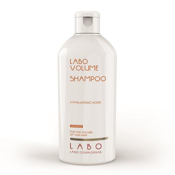 LABO VOLUME, šampūnas suteikiantis apimties su 3 hialurono rūgštimis, moterims, 200 ml paveikslėlis