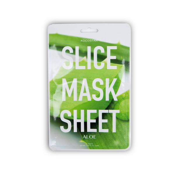 KOCOSTAR raminanti veido kaukė su alaviju rutuliukais Slice Mask, 1 vnt