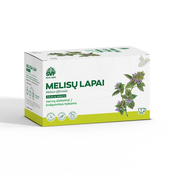 ACORUS MELISŲ LAPAI, 1,5 g , žolelių arbata, 24 vnt.  paveikslėlis