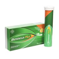 BEROCCA PLUS, šnypščiosios tabletės, N30 (2 x N15)  paveikslėlis
