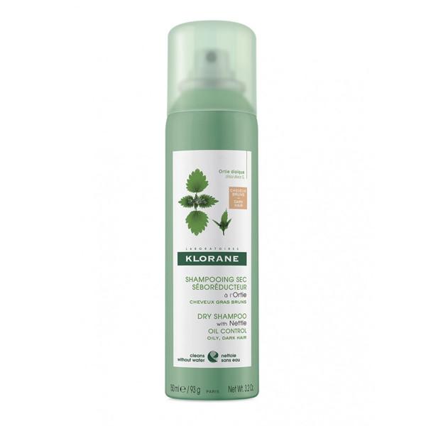KLORANE, purškiamas sausas šampūnas su dilgėlių ekstraktu, natūralios spalvos, 150 ml  paveikslėlis