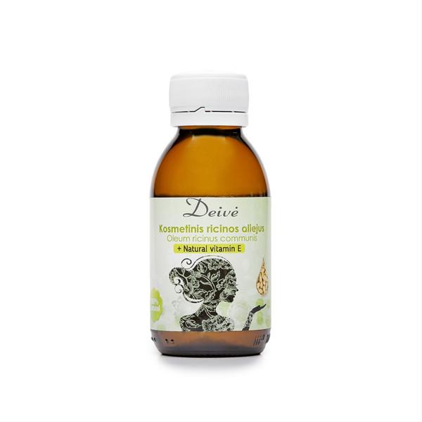 DEIVĖ, ricinų aliejus su natūraliu vitaminu E, 100 ml paveikslėlis