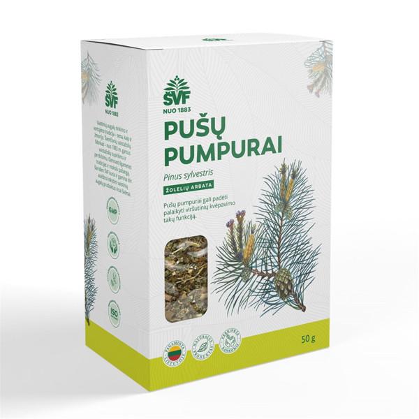 ACORUS PUŠŲ PUMPURAI, žolelių arbata, 50 g paveikslėlis