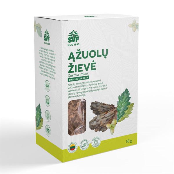 ACORUS ĄŽUOLŲ ŽIEVĖ, žolelių arbata, 50 g paveikslėlis