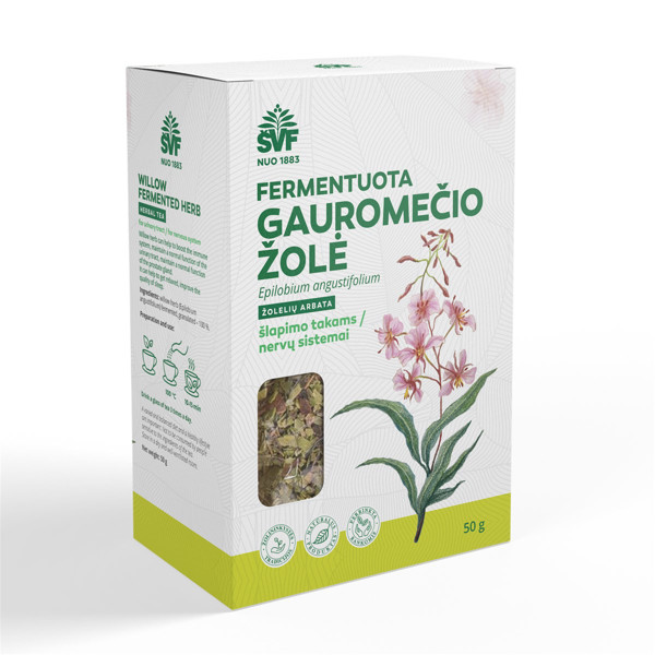 ACORUS GAUROMEČIŲ fermentuota žolė, žolelių arbata, 50 g paveikslėlis