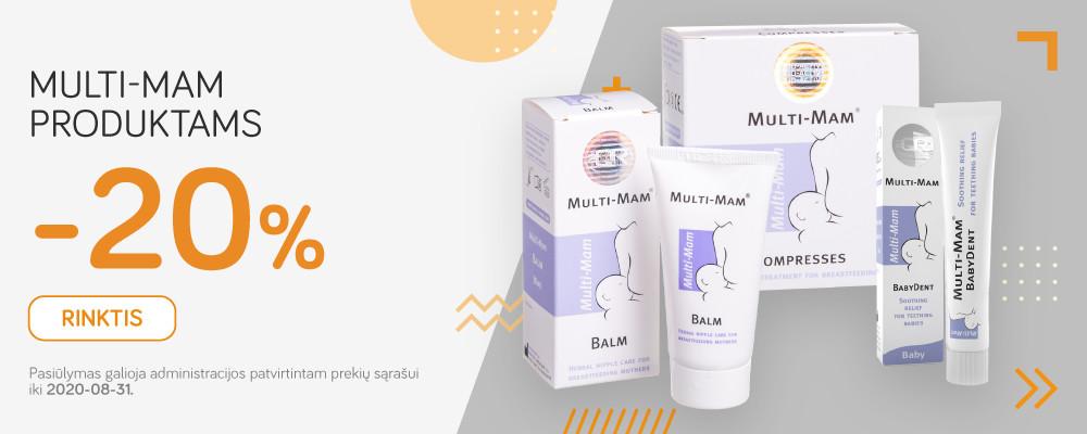 Multi-mam -20% nuolaida