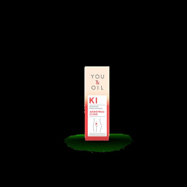 YOU&OIL KI  aromaterapijos mišinys MENSTRUACIJOS, 5ml paveikslėlis
