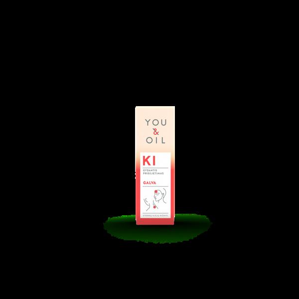 YOU&OIL KI aromaterapinis mišinys GALVA, 5ml paveikslėlis