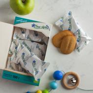 """""""Pirmieji su obuolių sultimis"""" ekologiški sausainiai FLEUR ALPINE,  nuo 6 mėnesių, 150 g paveikslėlis"""