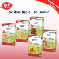 """""""Kakaviniai"""" ekologiški sausainiai  FLEUR ALPINE, nuo 9 mėnesių, 150 g paveikslėlis"""