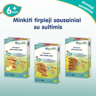 """""""Obuolių marmeladas"""" ekologiški sausainiai FLEUR ALPINE, visai šeimai, 150 g paveikslėlis"""