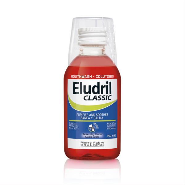 ELUDRIL CLASSIC, burnos skalavimo skystis, 200 ml paveikslėlis