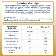 """""""Belgiški su šokolado gabaliukais"""" ekologiški sausainiai FLEUR ALPINE, nuo 3 metų, 150 g paveikslėlis"""