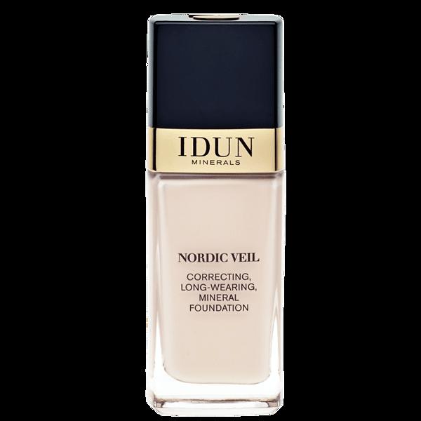 IDUN Minerals skystas makiažo pagrindas stipriai maskuojantis Nordic Veil Jorunn 1301, 26ml paveikslėlis