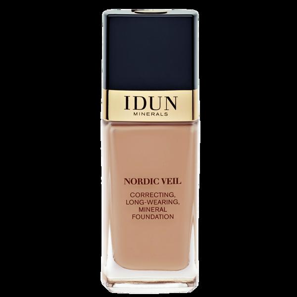IDUN Minerals skystas makiažo pagrindas stipriai maskuojantis Nordic Veil Ylva 1314, 26ml paveikslėlis