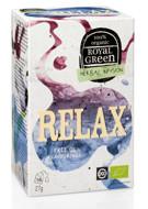 ROYAL GREEN BIO Relax arbata 1.7g N16 paveikslėlis