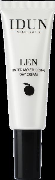 IDUN Minerals Tinted day cream LEN Extra Light Nr 1401, 50 ml paveikslėlis