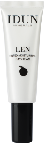 IDUN Minerals Tinted day cream LEN Light Nr. 1402, 50 ml paveikslėlis