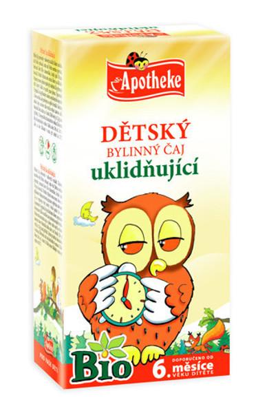 """APOTHEKE BIO""""Saldžių sapnų"""" žolelių arbata vaikams nuo 6 mėnesių, 1,5g N20 paveikslėlis"""