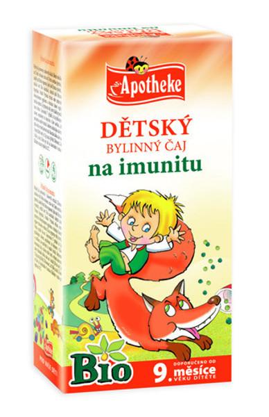 """APOTHEKE BIO""""Stipruolio"""" žolelių arbata vaikams nuo 9 mėnesių, 1,5g N20 paveikslėlis"""