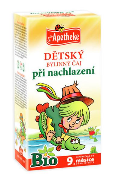 """APOTHEKE BIO""""Šaltuko"""" žolelių arbata vaikams nuo 9 mėnesių, 1,5g N20 paveikslėlis"""