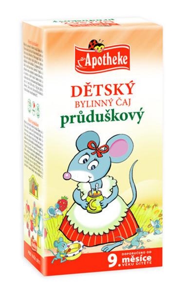 """APOTHEKE BIO""""Bronchata"""" žolelių arbata vaikams nuo 9 mėnesių, 1,5g N20 paveikslėlis"""