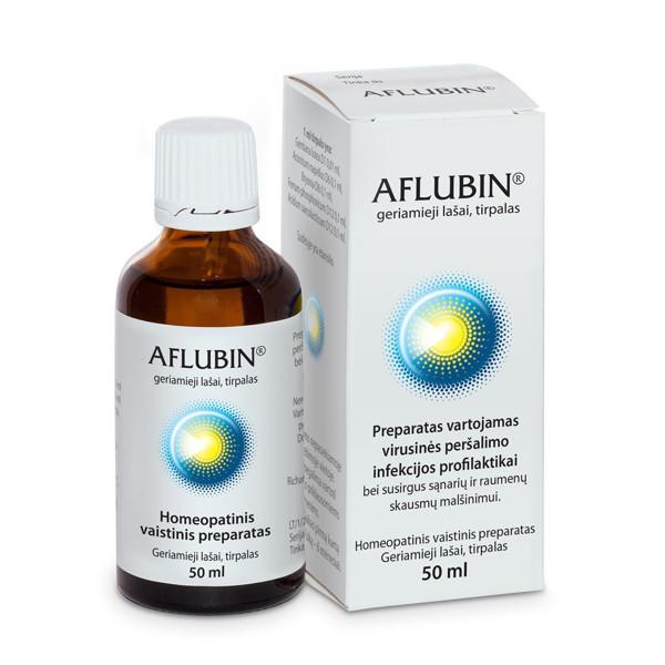 AFLUBIN, geriamieji lašai, tirpalas, 50 ml  paveikslėlis