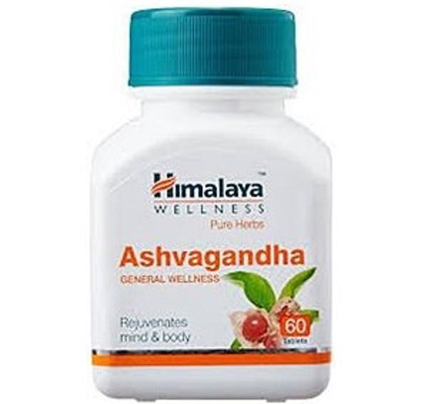 Himalaya Ashvagandha 60 Kapsulių paveikslėlis