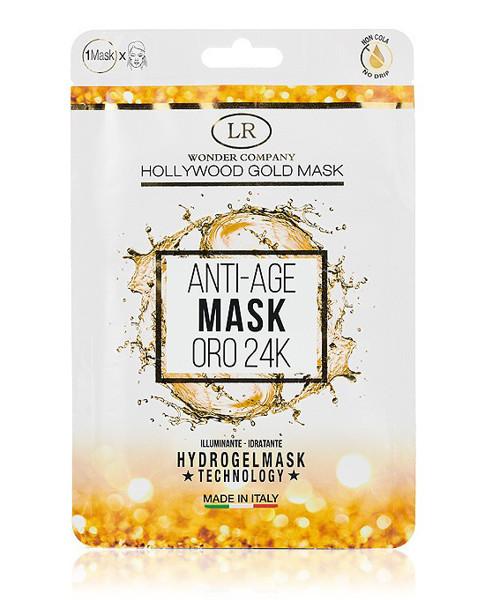 LR wonder company veido kaukė su 24 karatų auksu 1 vnt paveikslėlis